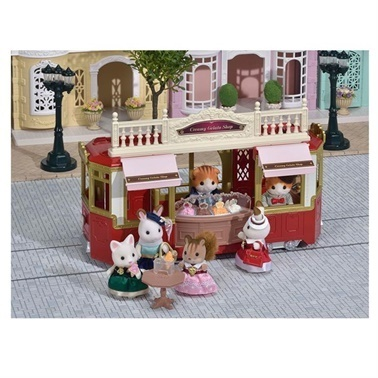 Sylvanian Sylvanian Families Dondurma Dükkanı Renkli